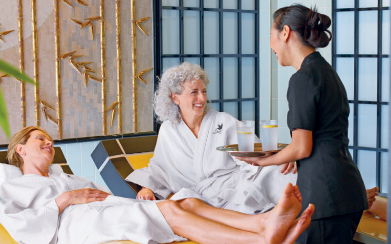 Princess Cruises Ruby Princess Lotus Spa