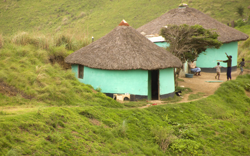 Rural huts in South Africa Princess Cruises