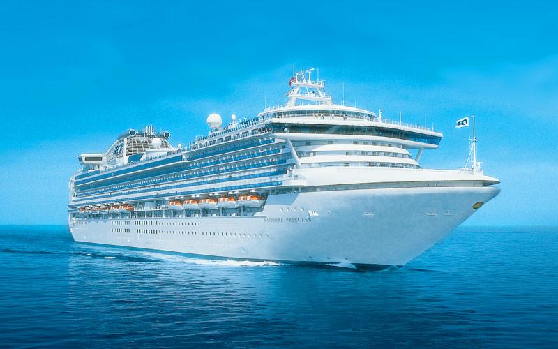 Princess Cruises Sapphire Princess exterior