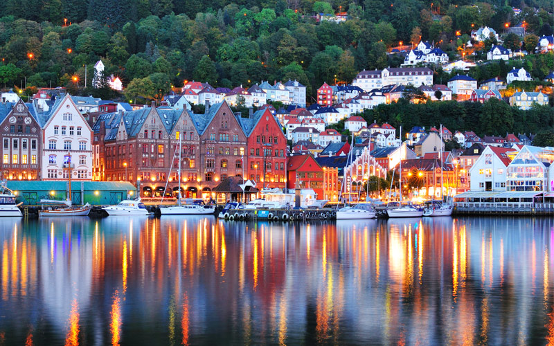 Bryggen in Bergen, Norway Princess Cruises Europe