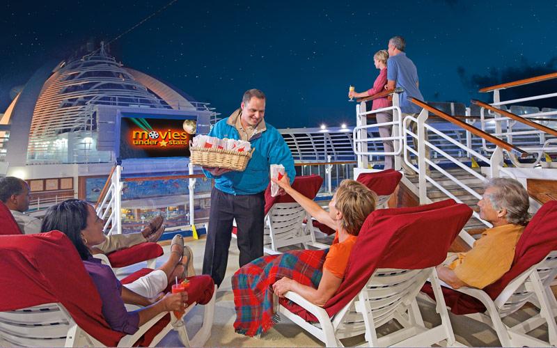 Princess Cruises Sea Princess Movies under the sta