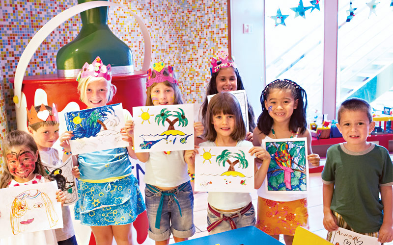 Princess Cruises Sea Princess youth center