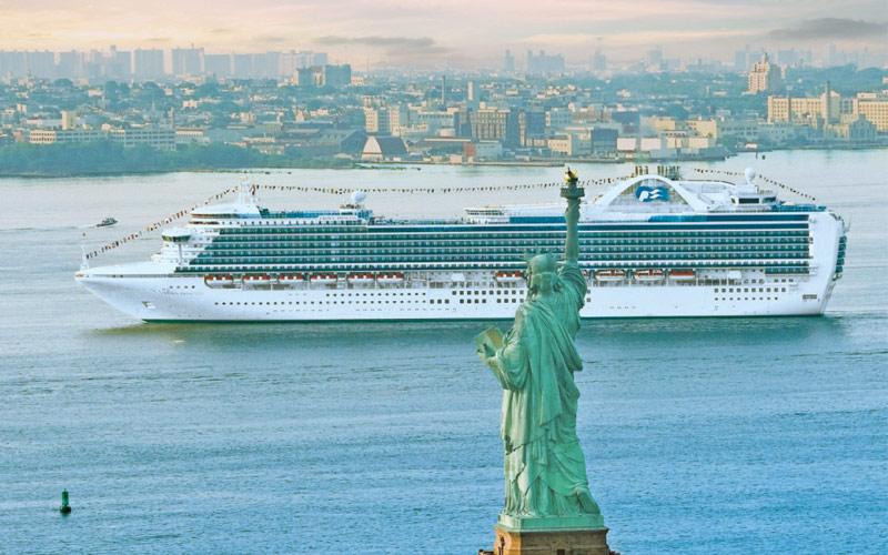 Lady Liberty New York Princess Transatlantic