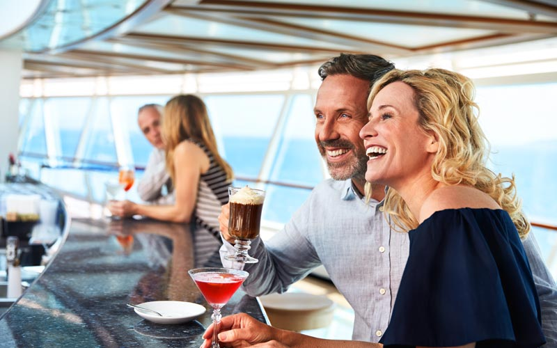 SeaView Bar aboard Sky Princess