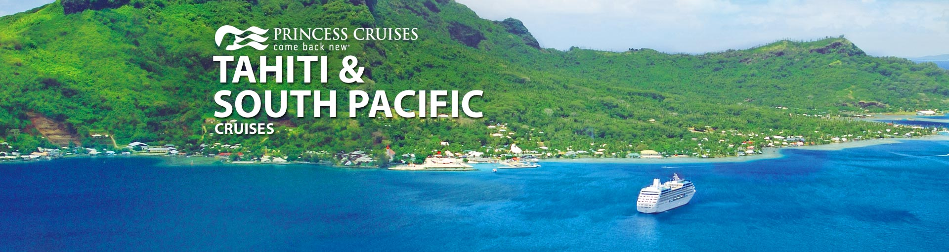 Princess South Pacific Cruises And Tahiti Princess - Cruise to tahiti