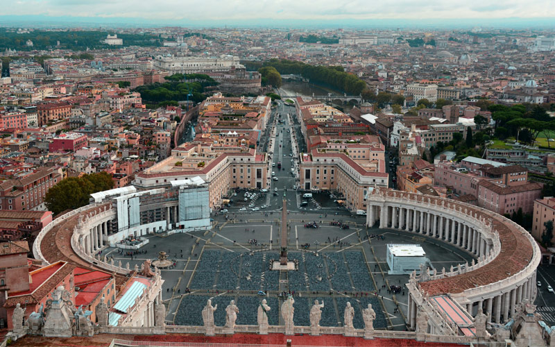 St. Peters Square in Italy Princess Mediterranean