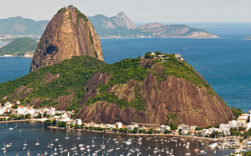 Sugarloaf Mountain, Rio de Janeiro Brazil Princess