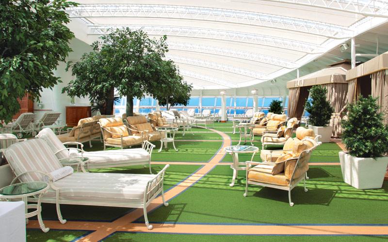 Princess Cruises Sun Princess Sanctuary