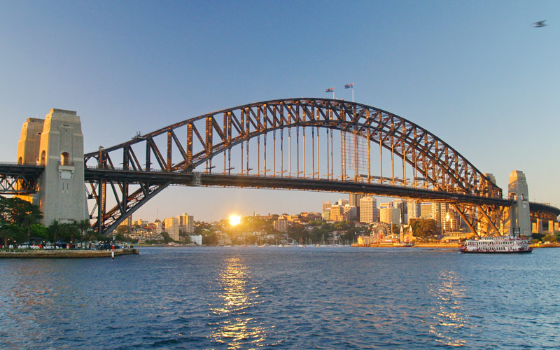 Sydney Harbour Bridge, Australia Princess Cruises