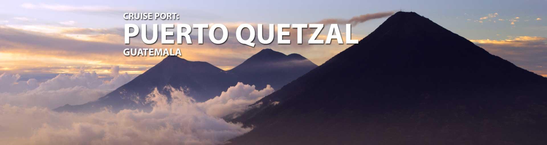 Cruises to Puerto Quetzal, Guatemala