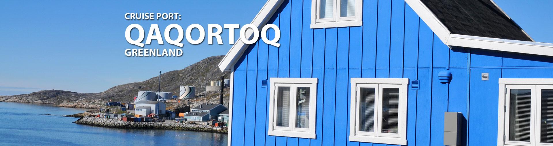 Cruises to Qaqortoq, Greenland