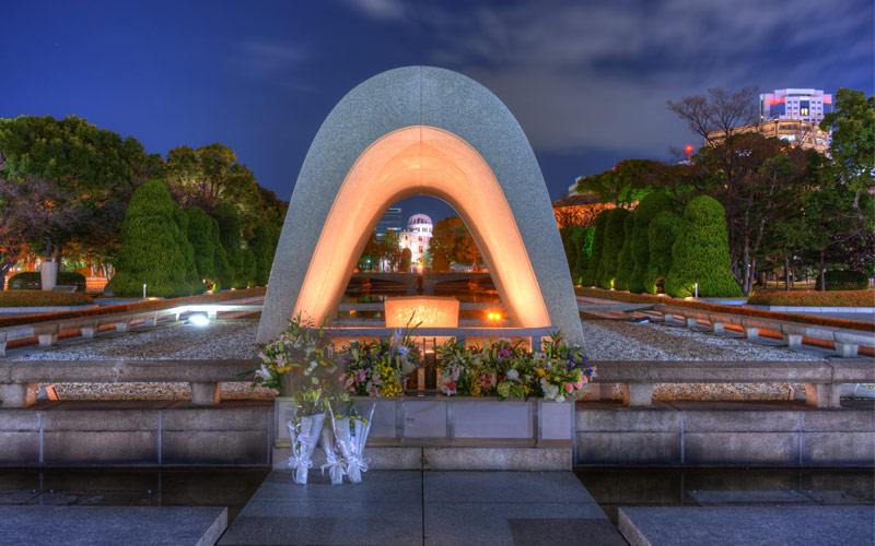 Peace Memorial Park Japan Regent Seven Seas