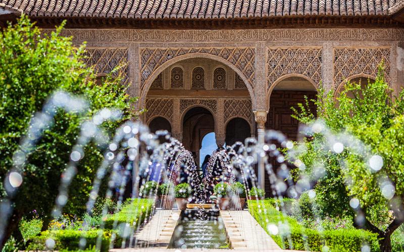 Gardens of the Generalife Spain Regent Seven Seas