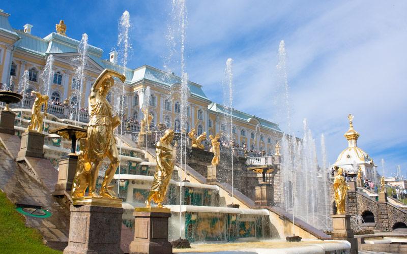 Peterhof Palace, Russia Regent Seven Seas Europe