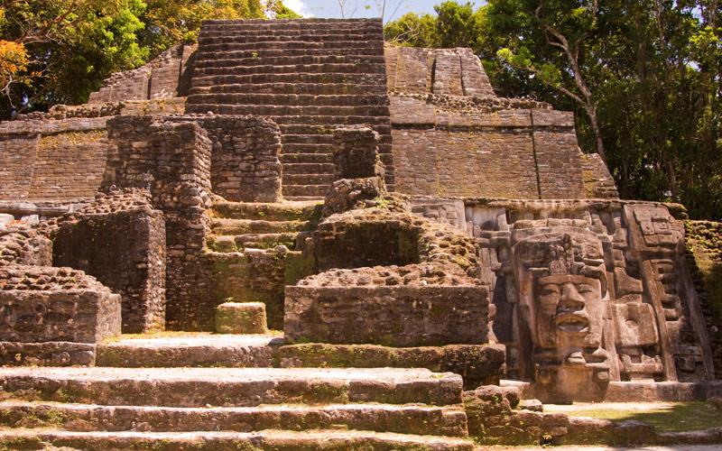 Mayan Temple Belize Regent Seven Seas Caribbean