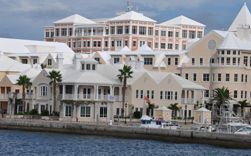 Downtown Hamilton in Bermuda Regent Seven Seas