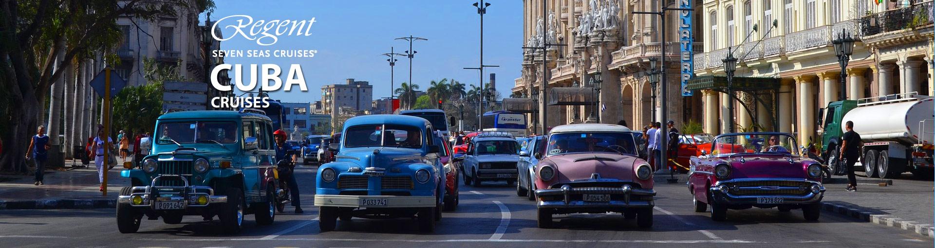 Regent Seven Seas Cruises to Cuba