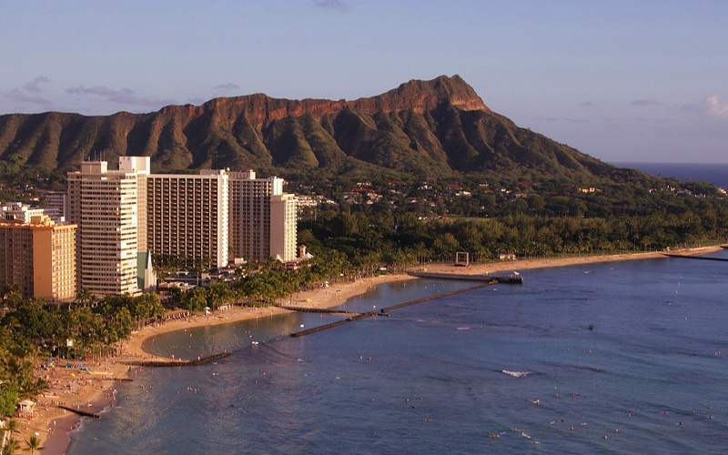 Diamond Head Crater of Hawaii - Regent Seven Seas