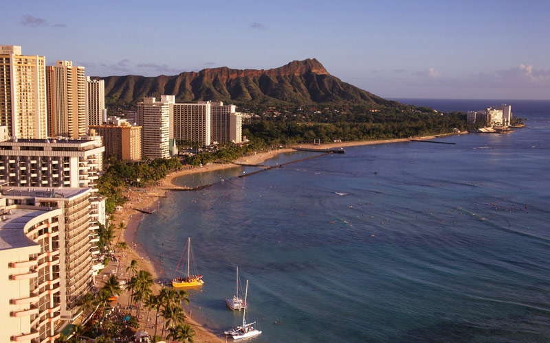 Diamond Head State Park in Hawaii