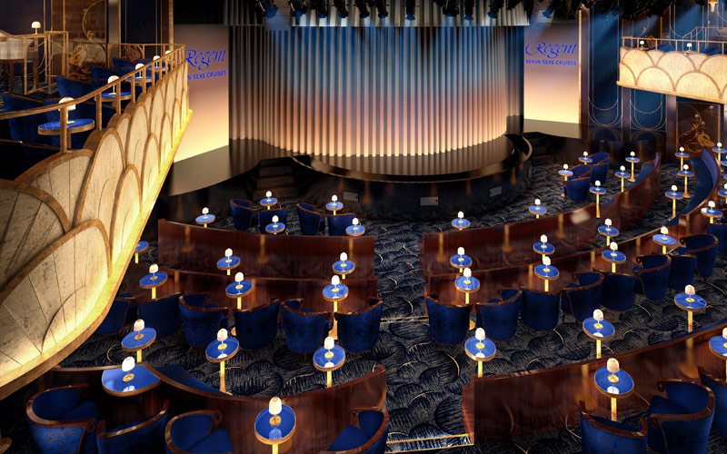 Regent Seven Seas Explorer Constellation Theater