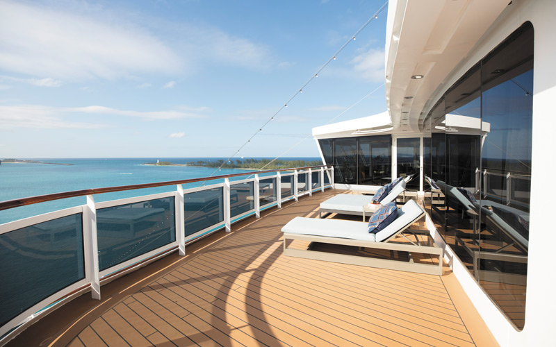 Regent Suite Balcony aboard Seven Seas Explorer