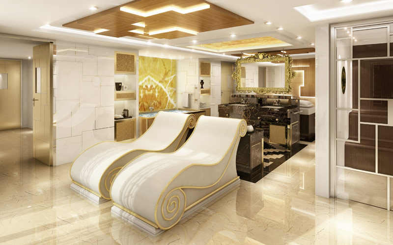 Regent Seven Seas Explorer In-Suite Spa