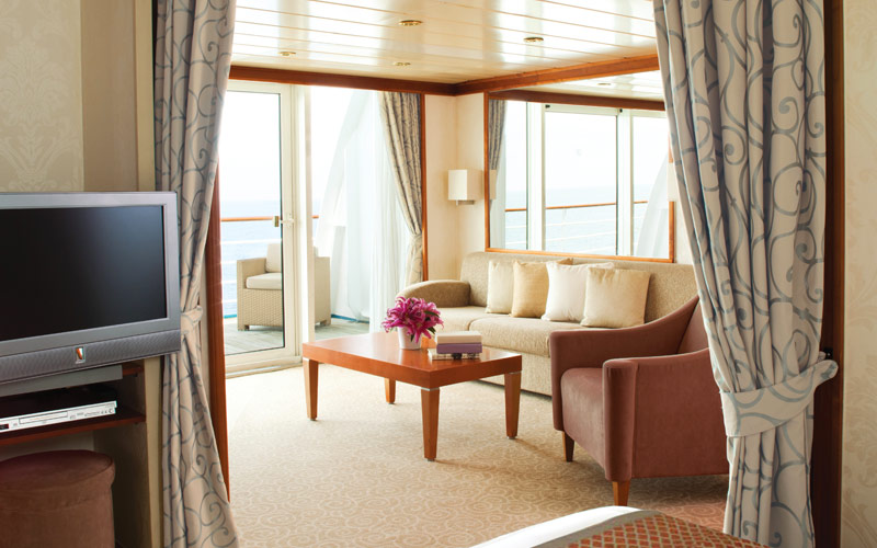 Regent Seven Seas Mariner Horizon Suite