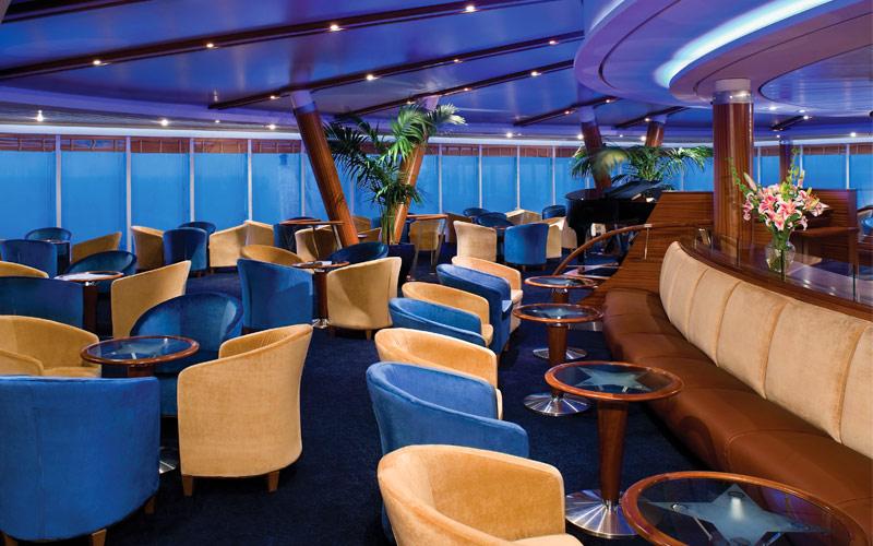 Regent Seven Seas Mariner Observation Lounge