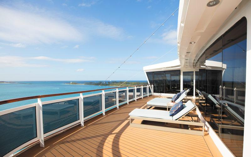 Regent Suite Balcony aboard Seven Seas Splendor
