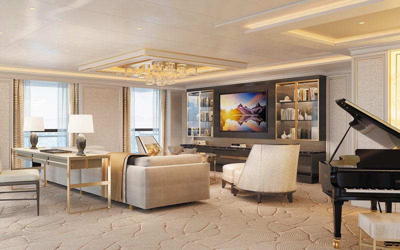 Regent Suite aboard Seven Seas Splendor