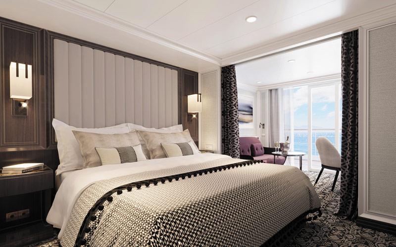 Veranda Suite aboard Seven Seas Splendor