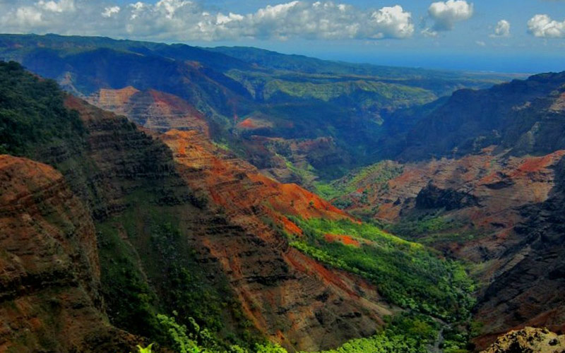 Waimea Canyon in Hawaii