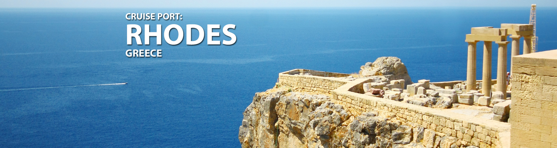 Cruises to Rhodes, Greece