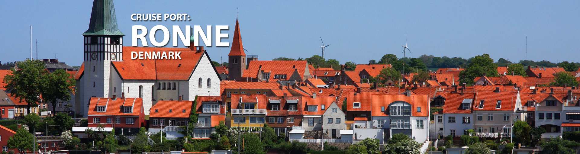 Cruises to Ronne, Denmark