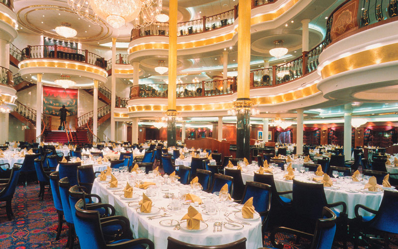 Royal Caribbean Adventure of the Seas dining room