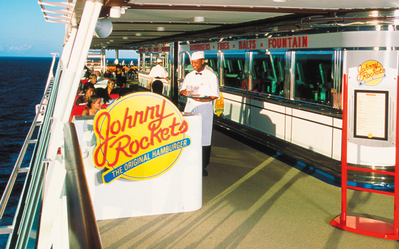 Royal Caribbean Adventure of the Seas Johnny Rocke