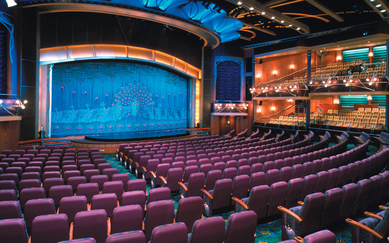 Royal Caribbean Adventure of the Seas Theater