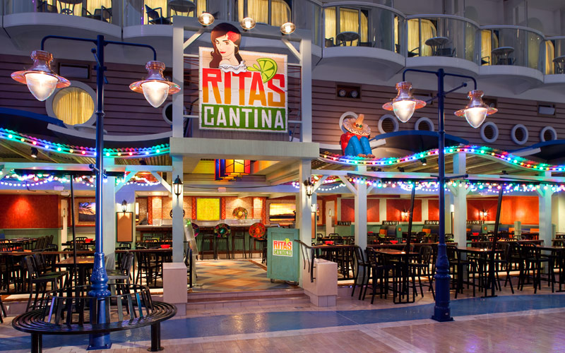 Royal Caribbean Allure of the Seas Ritas Cantina