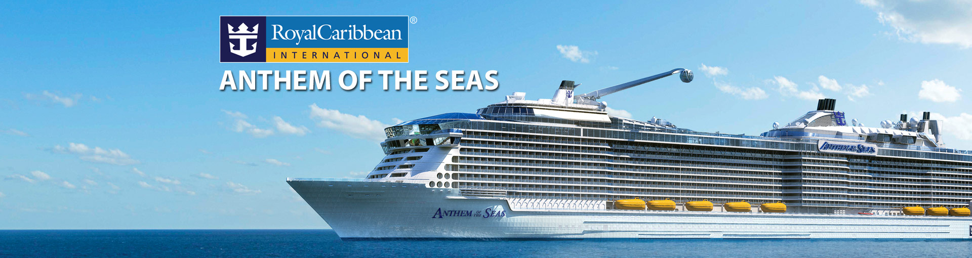 Royal Caribbeans Anthem Of The Seas Cruise Ship And - Cruise ship caribbean