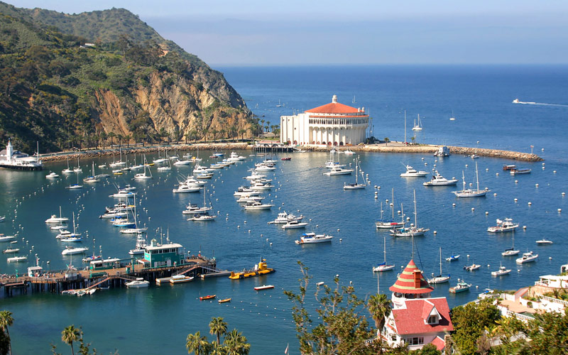 Royal Caribbean Avalon Bay of Catalina Island, CA