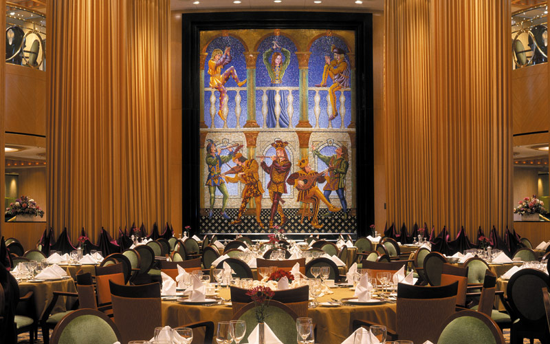 Royal Caribbean Brilliance of the Seas dining room