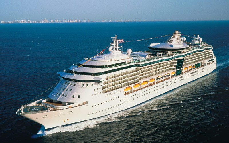 Royal Caribbean Brilliance of the Seas exterior