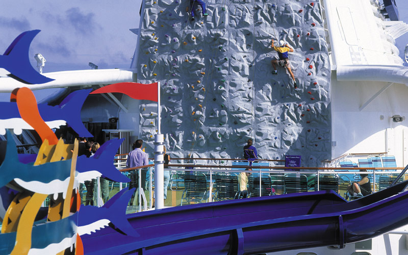 Royal Caribbean Brilliance of the Seas Waterslide