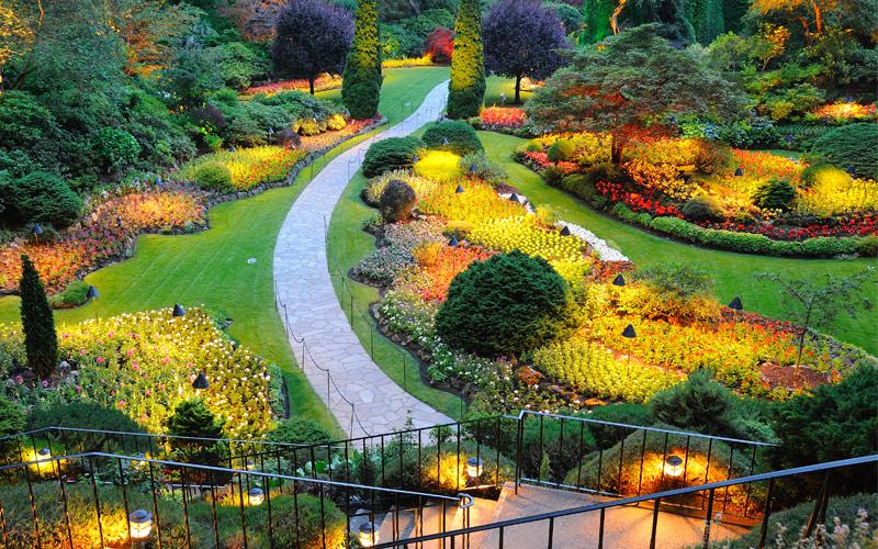 Royal Caribbean Butchart Gardens, Canada