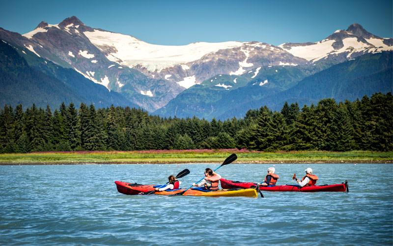 Royal Caribbean Alaska Cruisetour Kayakers