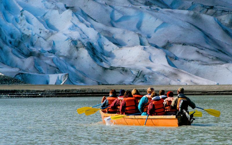 Royal Caribbean Alaska Cruisetour Glacier Point