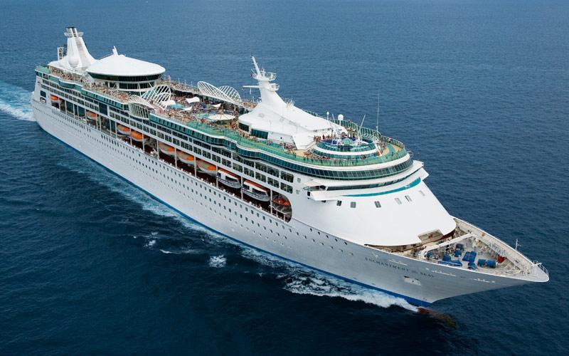 Royal Caribbean Enchantment of the Seas exterior