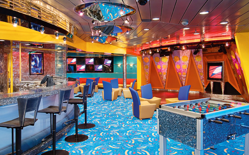 Royal Caribbean Enchantment of the Seas Fuel Disco