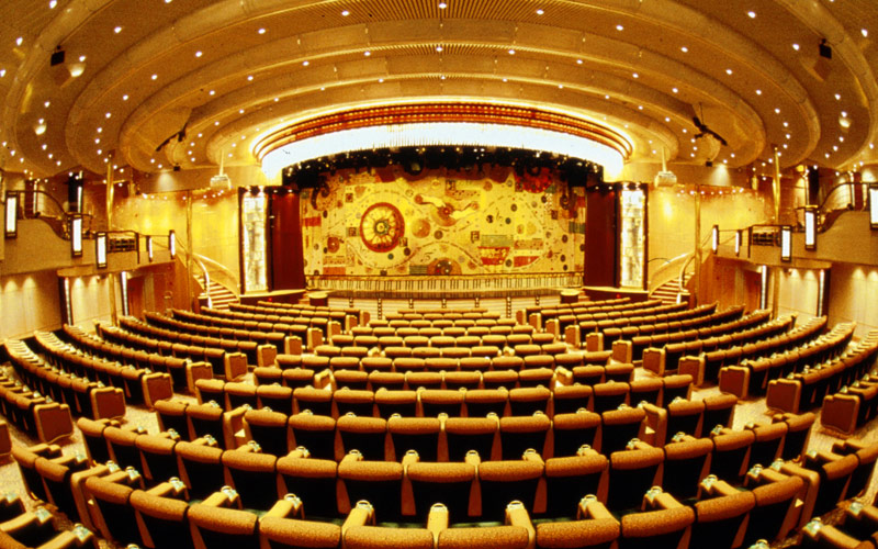 Royal Caribbean Enchantment of the Seas Theater