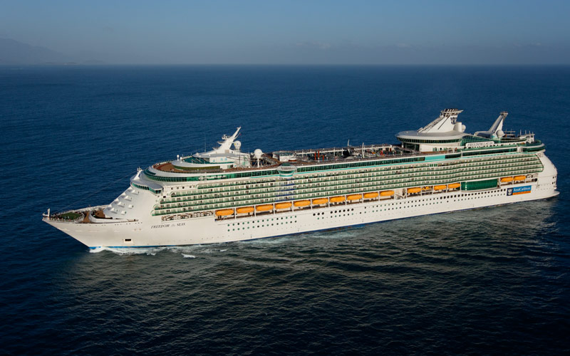 Royal Caribbeans Freedom Of The Seas Cruise Ship And - Freedom of the seas
